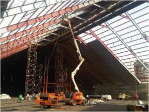 Preparacion y aplicacion de pintura en estructuras SERINCO