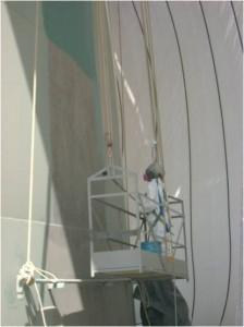 Recubrimiento epoxico poliuretano en tanques SERINCO